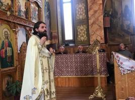 Sfânta Liturghie preacuviosul părinte arhimandrit Benedict Vesa