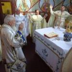 Binecuvântare arhierească în Parohia Chiuza